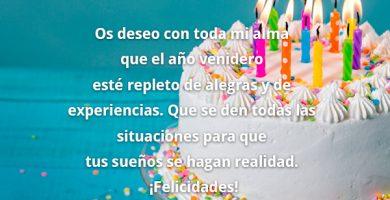 Frases De Feliz Cumpleaños Para Un Amor Bonitas