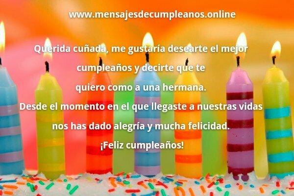 Frases De Felicitacion De Cumpleanos Para Un Cunado.40 Frases Y Mensajes Para Felicitar A Una Cunada Lista